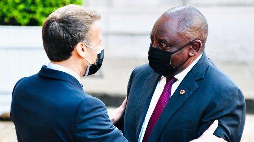 Ramaphosa to host French President Emmanuel Macron