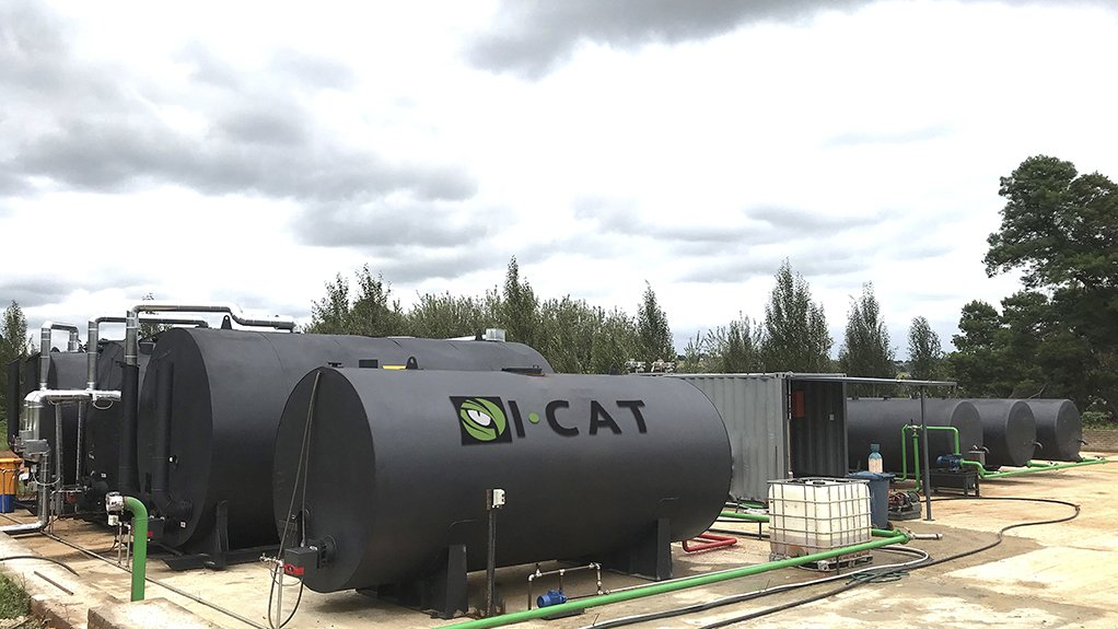 LESS DUST I-CAT manufacturing plant