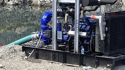 SYKES DIESEL-DRIVEN PUMP The Sykes diesel driven pump set is ideal for dewatering open pit operations.