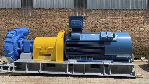 HIGHER-PRESSURE PUMPS These high-pressure pumps include three 850 kW Cornell 810 26 MX high-pressure pumps, and four 810 22 mining pumps with 650 kW motors