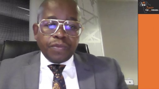 Department of Mineral Resources and Energy Director-General Advocate Thabo Mokoena