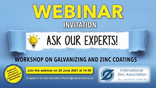 Expert workshop on zinc coatings