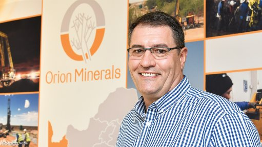 Orion Minerals partners with CGS  to explore the Northern Cape