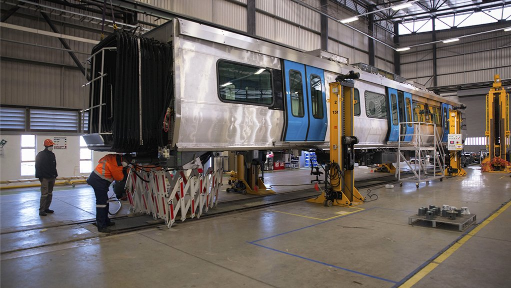 IMPROVED TURNAROUND  In the 2020/21 financial year, Gibela produced 25 train sets, an improvement on the ten sets produced in the previous financial year
