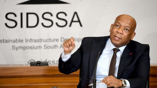 The Presidency's Infrastructure & Investment Office head, Dr Kgosientso Ramokgopa