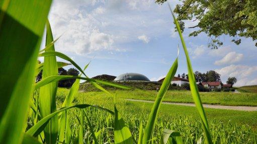 BIOGAS FACILITY ON FARM Anaerobic digestion converts hazardous organic waste