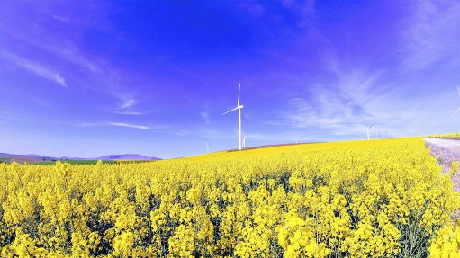 KLIPHEUWEL WIND FARM  The demand particularly pertains to . . . the hybridisation of wind energy, which allows for electricity to be generated from two or more sources with storage
