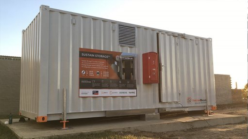 BATTERY ENERGY STORAGE  The aim of the project – successfully completed at the end of March this year – is to alleviate healthcare pressure at the hospital during the Covid-19 pandemic