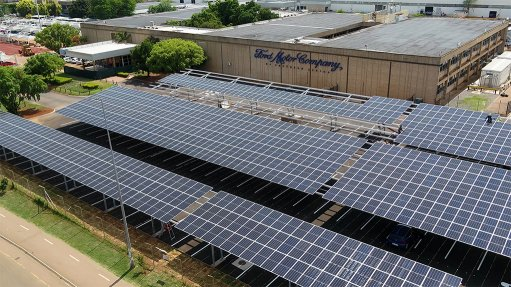 Solar roll-out at Ford to wrap up in Q4, Phase 2 to start delivering gas in 2022