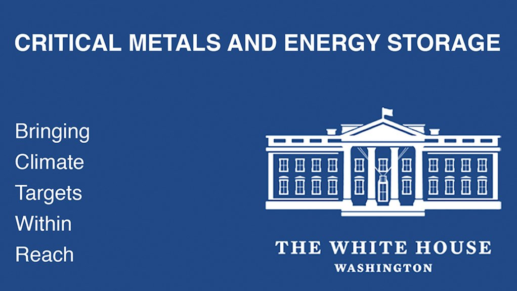The White House on building supply chains.