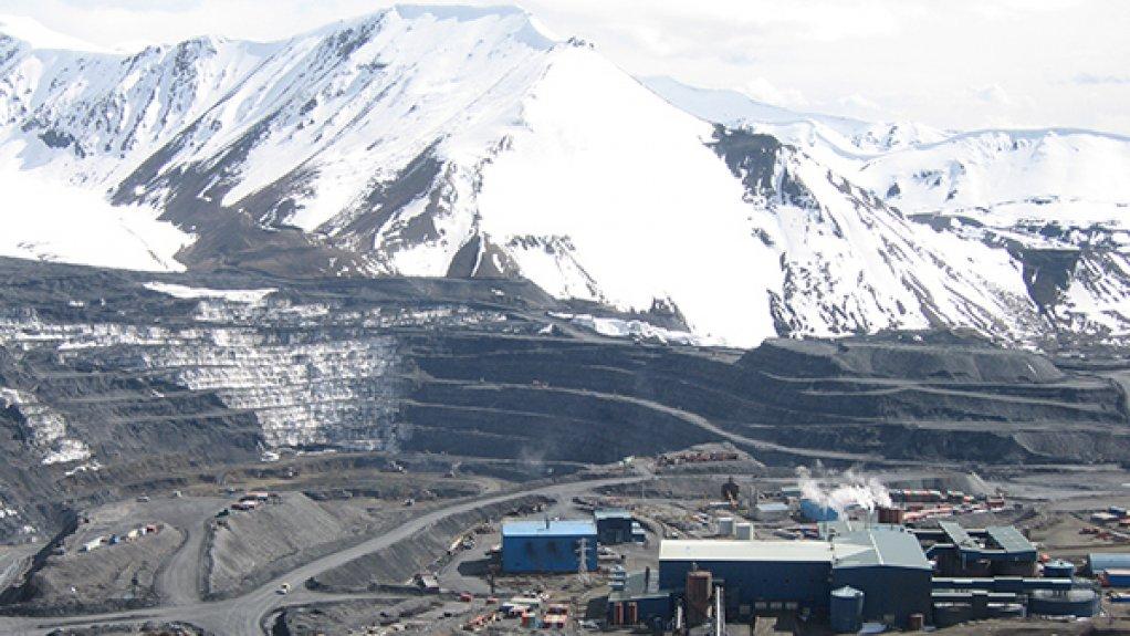 The Kumtor gold mine in Kyrgyzstan