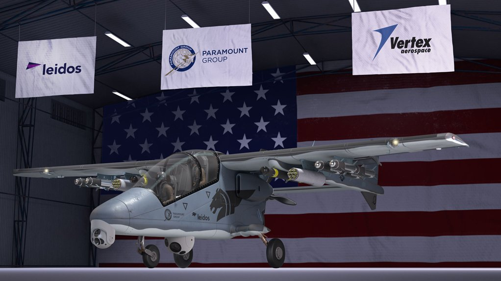 Paramount US's Bronco II aircraft
