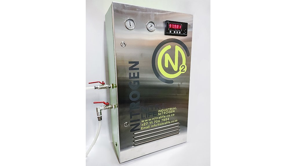 NEXT GENERATION  While Nitralife's nitrogen generators have similar designs for various applications, it adjusts each variation according to customer's specifications