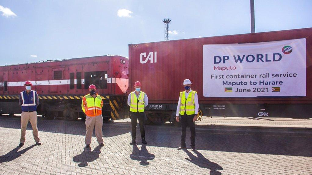 DP World Maputo launches rail service between Maputo and Harare