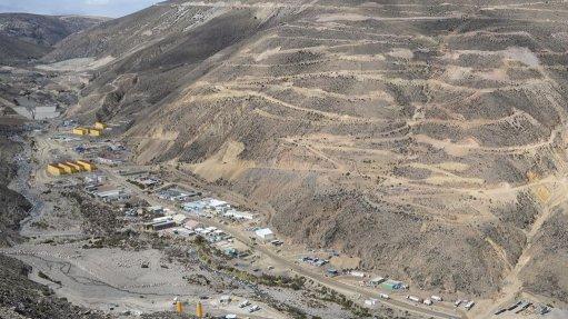 QUELLAVECO DEPOSIT IN MOQUEGUA, PERU Quellaveco will be supplied by the Punta Lomitas wind project in south-central Peru