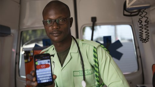 Mobile app reduces ambulance response time for patients in informal areas