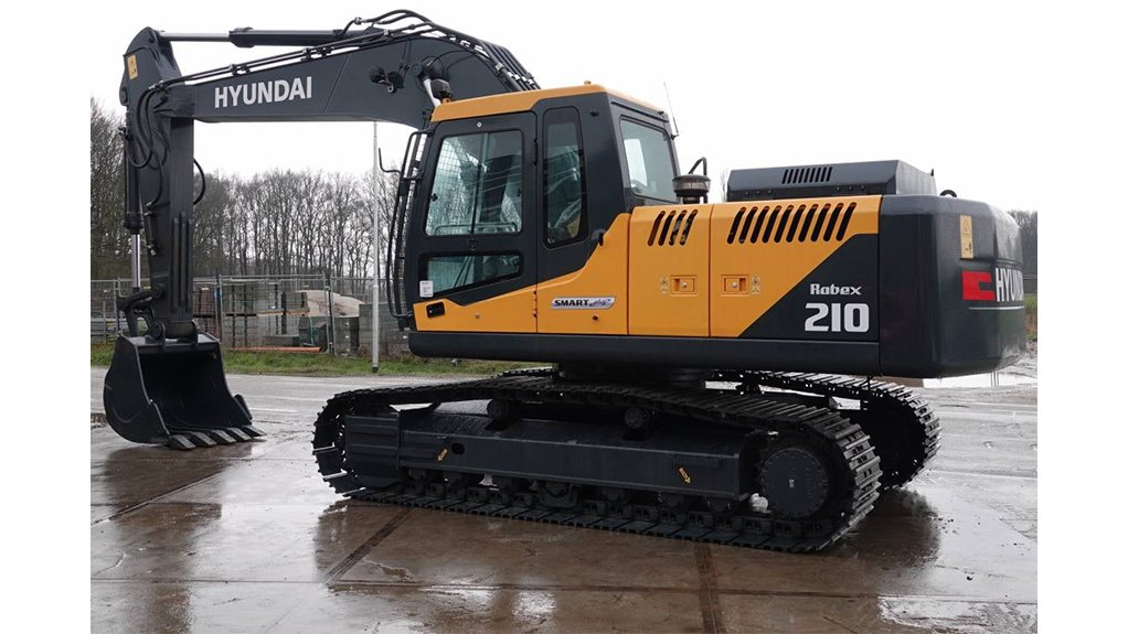 MAKING GROUND The new crawler excavators introduced to the HPE portfolio are suited to earthmoving applications