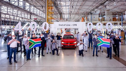 VWSA produces its 400000thcurrent generation Polo