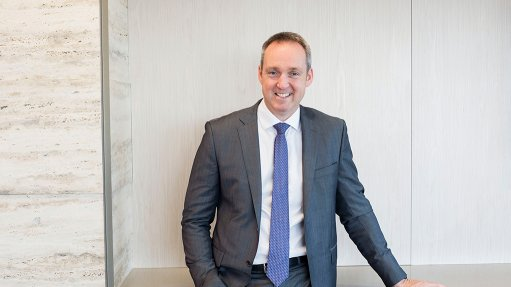 South32 CEO Graham Kerr