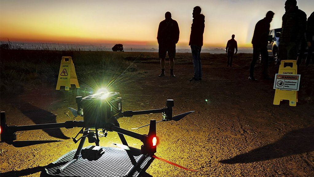 SKY HIGH The use of drones to conduct non-destructive testing on taller installations and hard to reach areas is even more possible