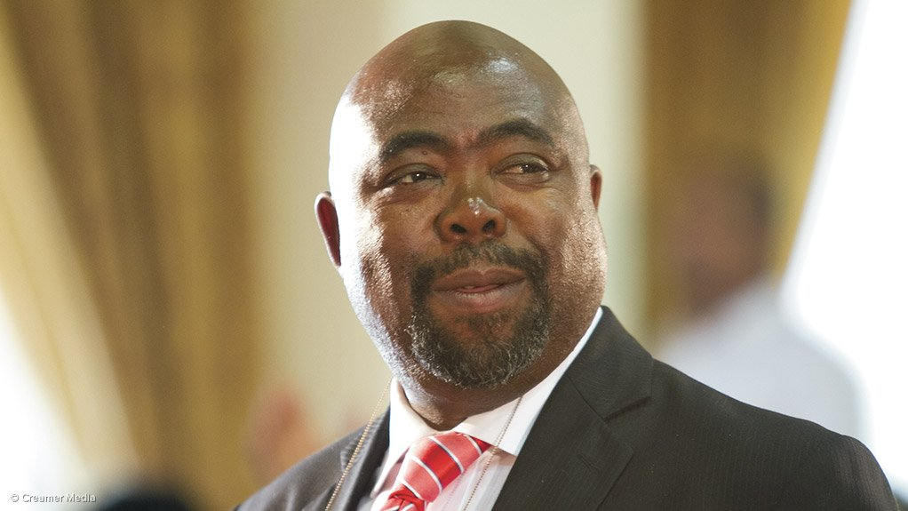 Employment and Labour Minister Thulas Nxesi