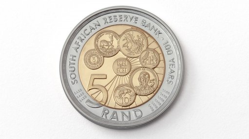 To mark its centenary, the SARB will issue a commemorative circulation R5 coin