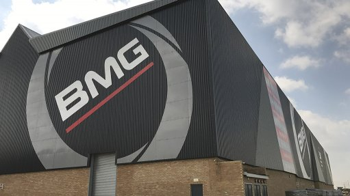NEW STANDARD  BMG is currently waiting for approval to become listed as a standard on mine sites