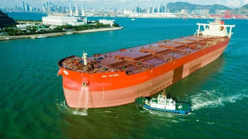 The technology, known as air lubrication, was installed in the Sea Victoria.