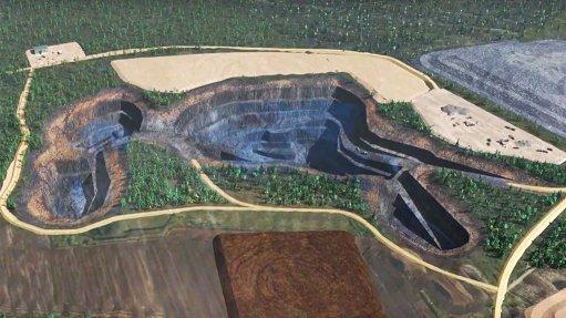 The initlally opencast Rapasaari mine will eventually go underground.