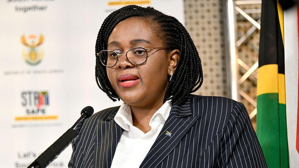 Acting Minister of Health Mmamoloko Kubayi-Ngubane