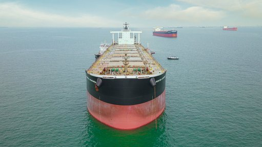 Waste cooking oil powers ship from  Singapore to South Africa for Anglo