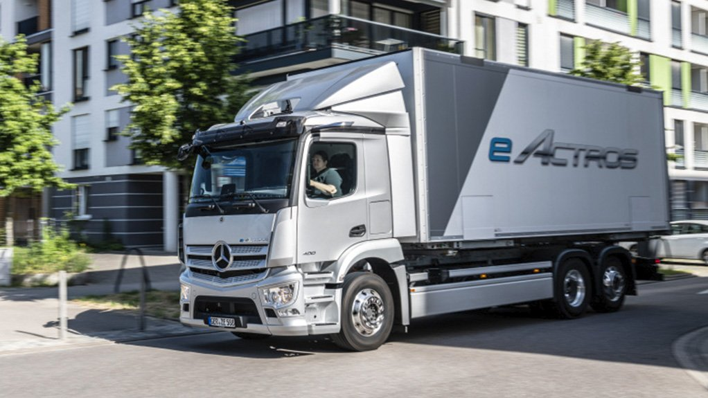 Merc Trucks launches electric Actros; etrucks also planned for SA