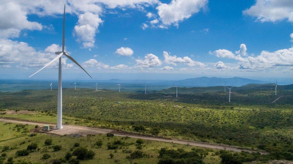 Kipeto wind farm, in Kenya