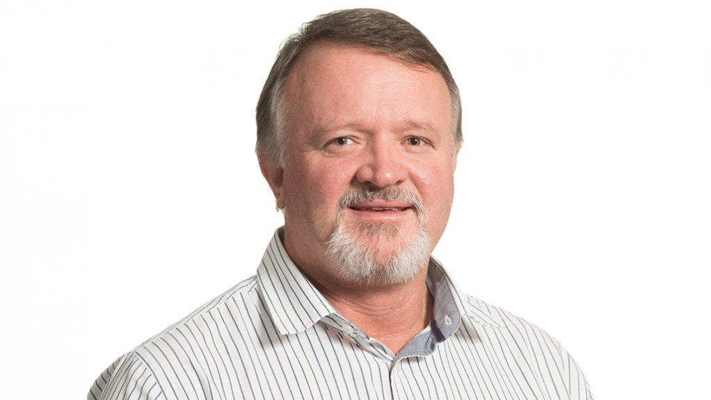 Photo of University of Pretoria project management associate Professor Giel Bekker