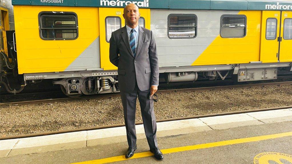 Photo of PRASA CEO Zolani Matthews
