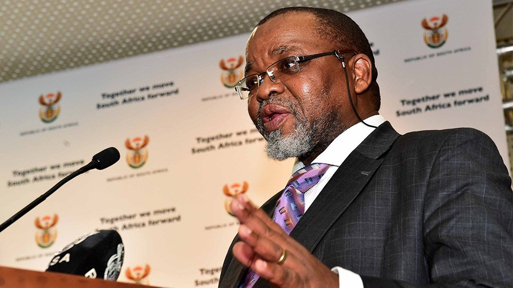Photograph of Mineral Resource and Energy Minister Gwede Mantashe