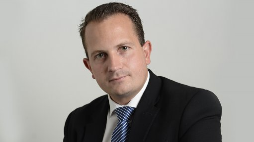An image of Standard Bank executive trade and supply chain finance head Justin Milo