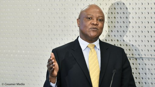 An image of David Msiza, the chief inspector of mines at the Department of Mineral Resources and Energy