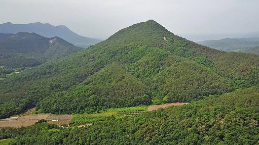 UISEONG PROJECT Rhyodacite dome intrusion
