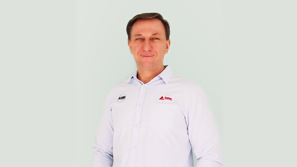 An image/photo of BME Australia Asia General Manager Brad Bulow