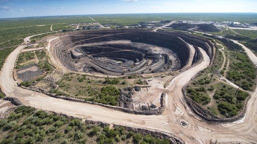 The Karowe openpit mine in Botswana
