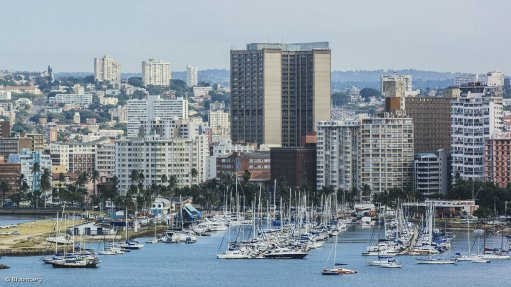 A photo of the city of Durban