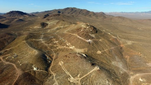 Picture showing exploration activities in Nevada, in the United States.