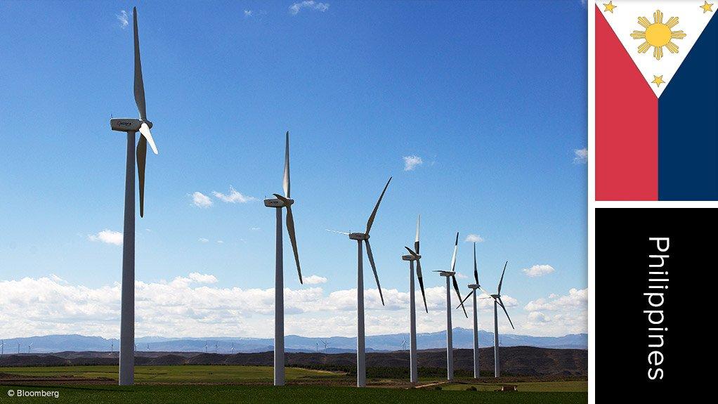 Image Philippines wind farm