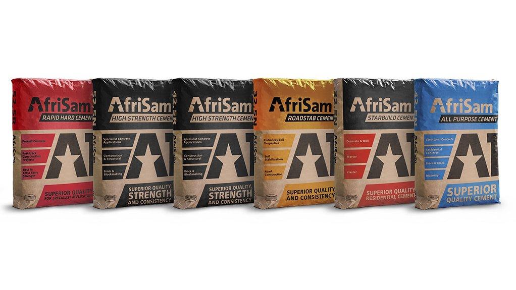 AfriSam product range