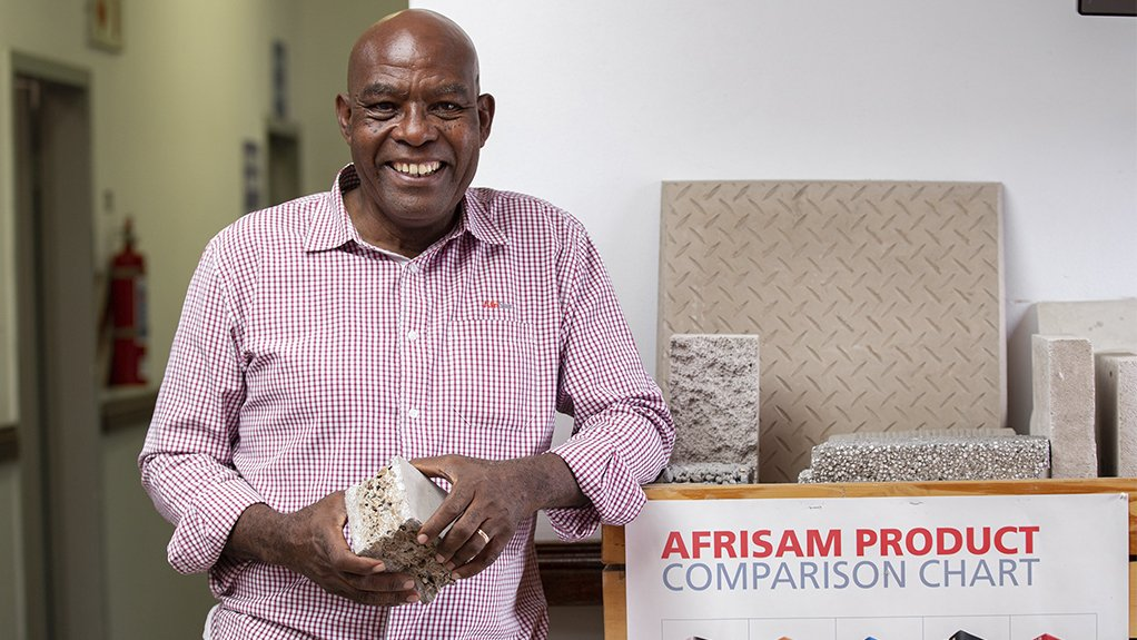 AfriSam centre of product excellence