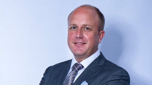 An image of Anthony Viljoen, the CEO of AfriTin Mining