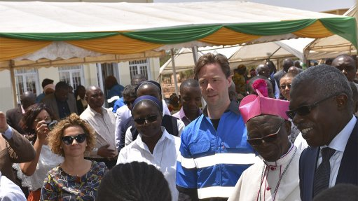 An image of the launch of the Bon Pasteur Alternative Livelihood programme in Kolwezi, in the DRC