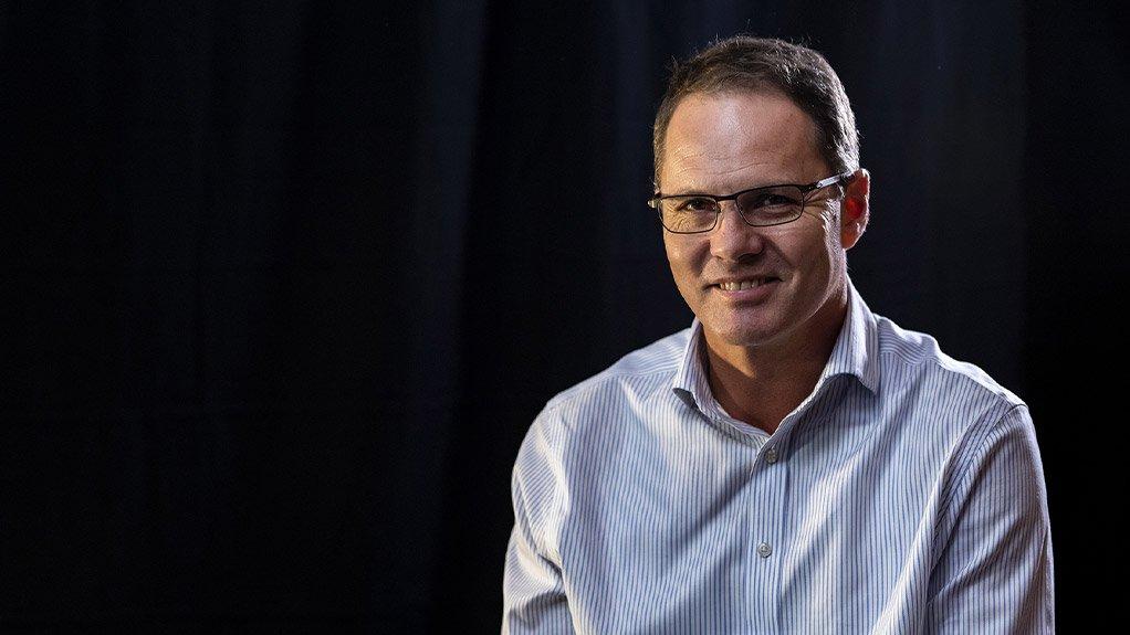An image of Niël Pretorius CEO of DRDGOLD