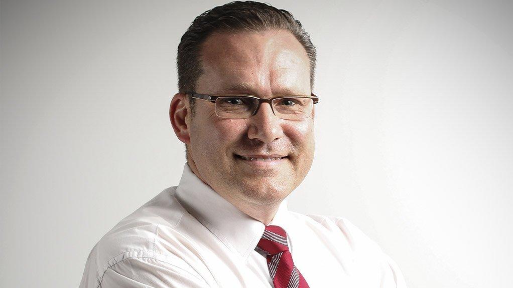 An image of Riaan Davel CFO of DRDGOLD